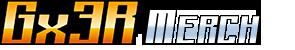 Gx3R Merch logo