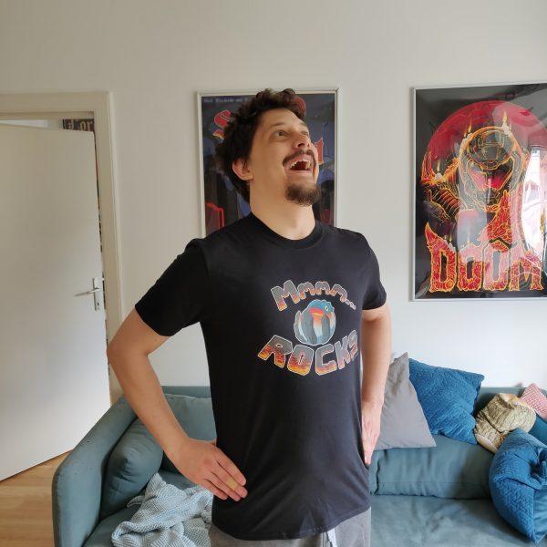 Dodogama tshirt on a friend!